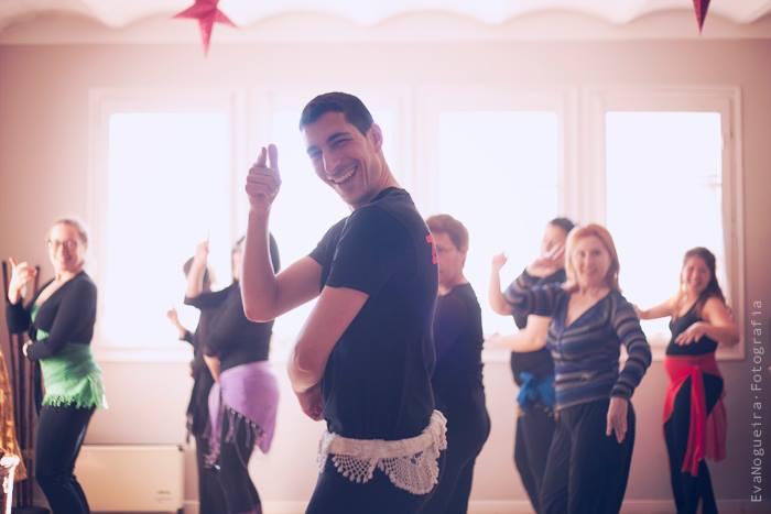 Clases de danza oriental en Córdoba con Zuel