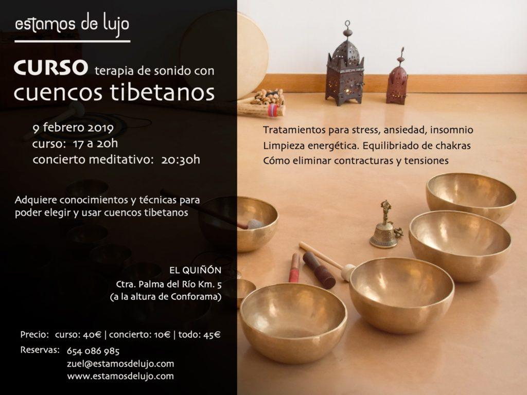 Curso de terapia de sonido con cuencos tibetanos @ El Quiñón