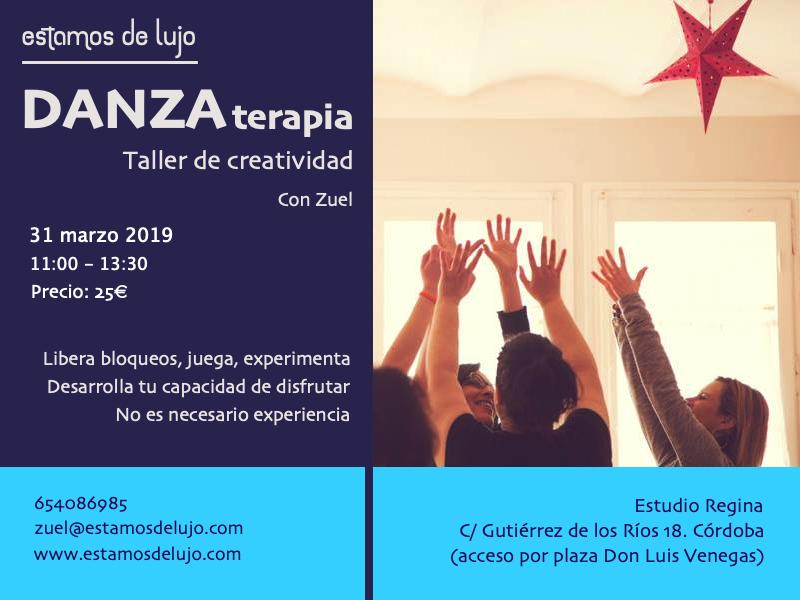 Taller de Danza Terapia + creatividad @ Estudio Regina