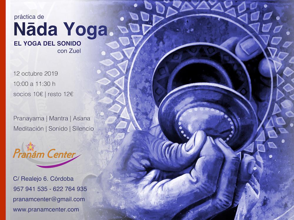 Práctica de Nada Yoga en Pranám Center