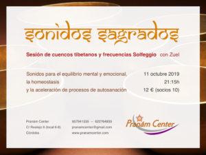 Sonidos Sagrados. Sesión terapéutica de relajación @ Pranám Center