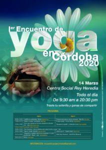 1º Encuentro de Yoga Córdoba 2020 @ Centro Social Rey Heredia